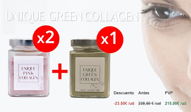 Pack Unique pink collagen