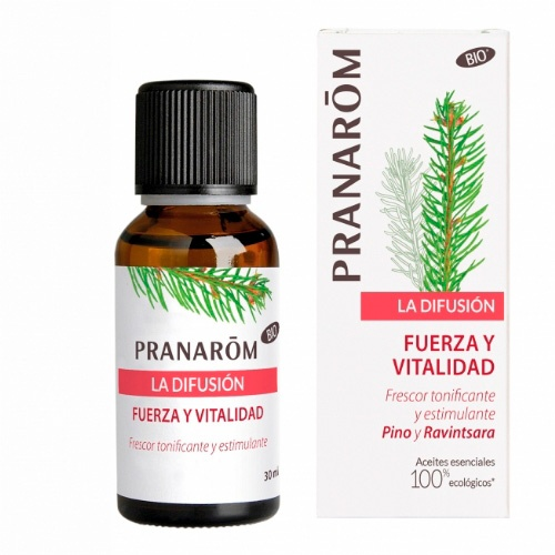 PRANAROM MEZLCA DIFUSOR FUERZA Y VITALIDAD 30ML