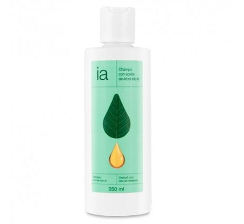Interapothek champu con aceite de arbol de te (250 ml)