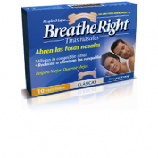 BREATHE RIGHT - TIRA ADH NASAL (T- PEQ-MED 10 U)