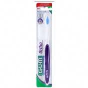 Cepillo dental adulto - gum 124 ortodoncia (1 unidad)