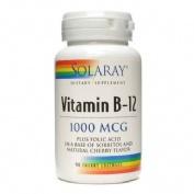 Solaray vitamina b-12 1000mcg 9o cap