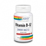 Solaray vitamin b12 2000 mcg 90sublinguals