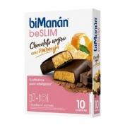 Bimanan beslim sustitutivo barrita (chocolate naranja 10 barritas x 31 g)