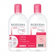 Bioderma pack sensibio 2 x 500ml