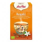 Yogi tea regaliz infusion