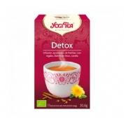 Yogi tea desintoxicacion infusion