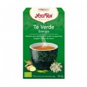 Yogi tea te verde infusion energia
