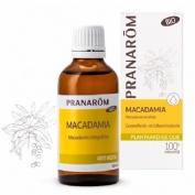 Pranarom aceite vegetal macadamia 50 ml