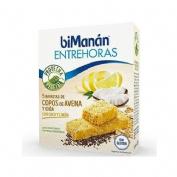 Bimanan proteina vegetal  coco limon 5 barritas