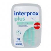 CEPILLO DEN INTERPROX PLU MICR 10U