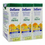 Oralsuero (frutas 200 ml 3 bricks)