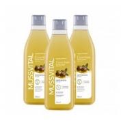 Mussvital pack 3 gel baño aceite de oliva 750 ml
