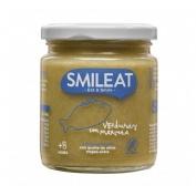 Smileat tarrito verduras con merluza 230g