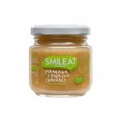 Smileat tarrito manzana y pera con cereales 130g