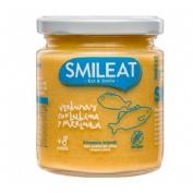 Smileat tarrito verduras, lubina y merluza 230g