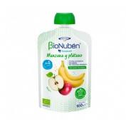 Bionuben ecopouch manzana y platano (100 g)