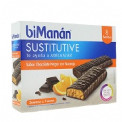 BIMANAN BARRITA CHOCOLATE NEGRO Y NARANJA 320 G