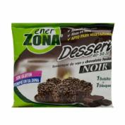 Enerzona dessert 40-30-30 noir - tentempie de soja y chocolate fundido (24 g  1 bolsita)