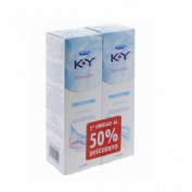 K-y gel - lubricante hidrosoluble intimo (75 ml 2 unidades)