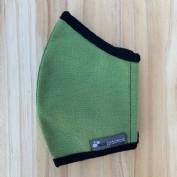 Ecopractica mascarilla tela verde t.l