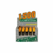 NUTRISPORT L CARNITINA1.500 20 VIALES