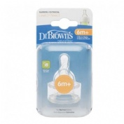 TETINA SILICONA - DR BROWN´S NATURAL FLOW STANDARD (+ 6 MESES N3 3 U)