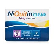 NIQUITIN CLEAR 14 mg, 24 HORAS PARCHE TRANSDERMICO , 14 parches
