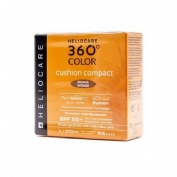 Heliocare 360º color cushion compact spf 50+ - protector solar (bronze intense 15 g)